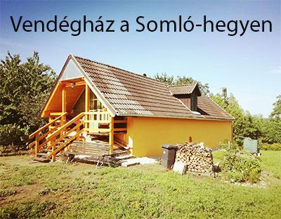 Vendégház a Somló-hegyen